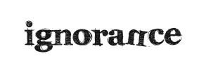 ignorancewordmark