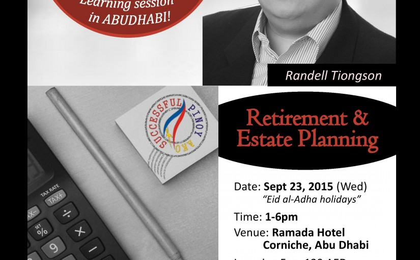 Special finance events for Dubai & Abu Dhabi OFWs!