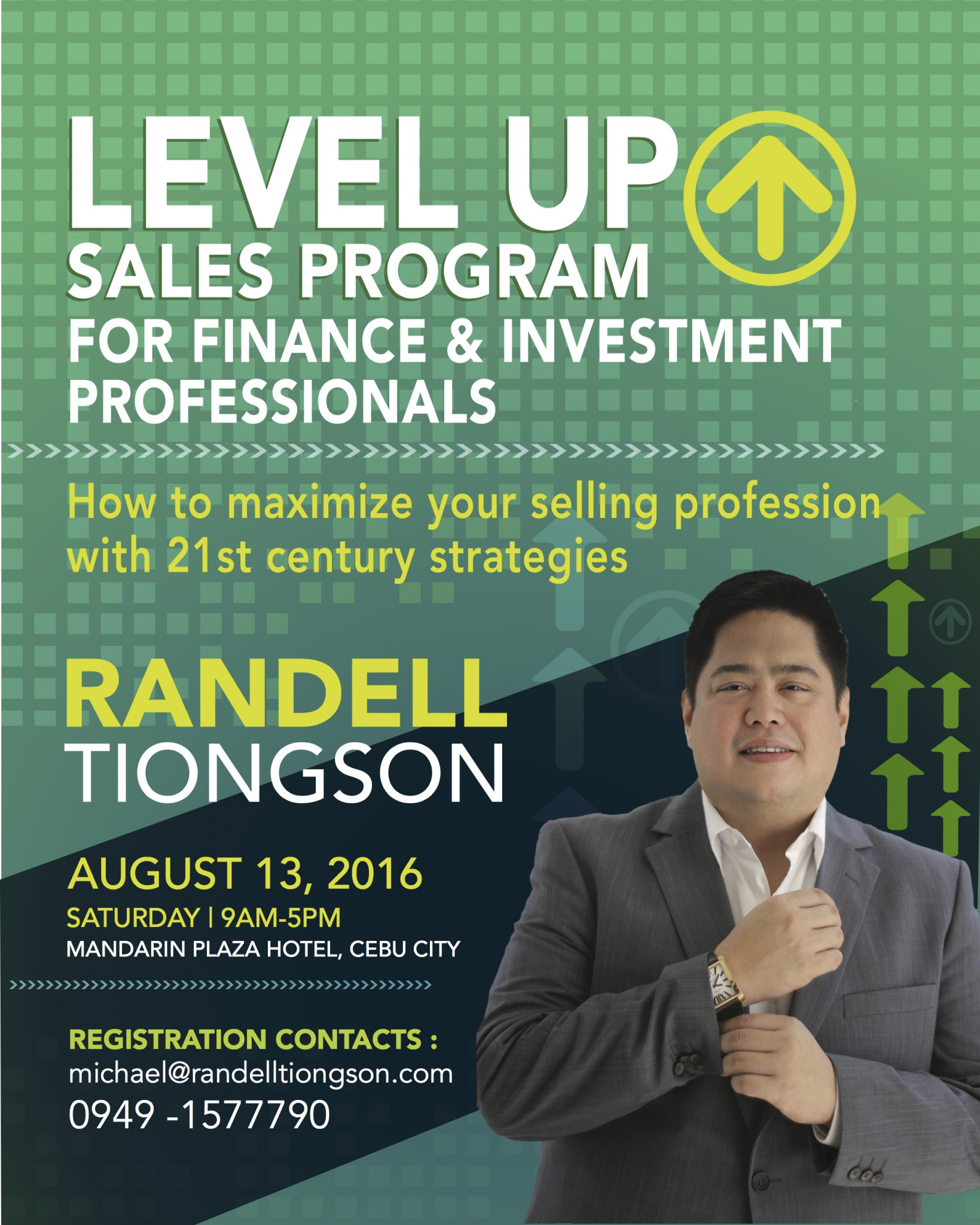 Level Up Sales Poster AUG 13