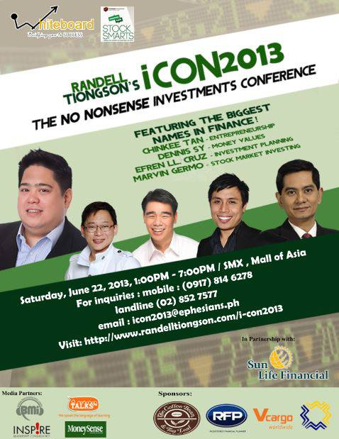 icon poster with sponsors
