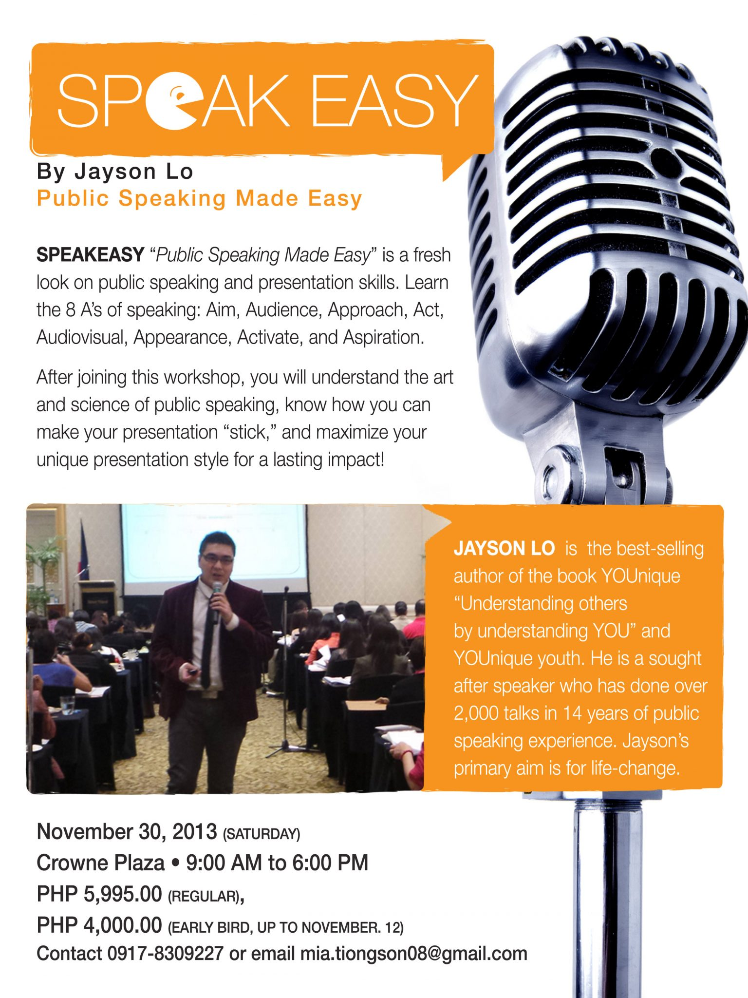 Youth Public Speaking Class for K-12 - QD Learning