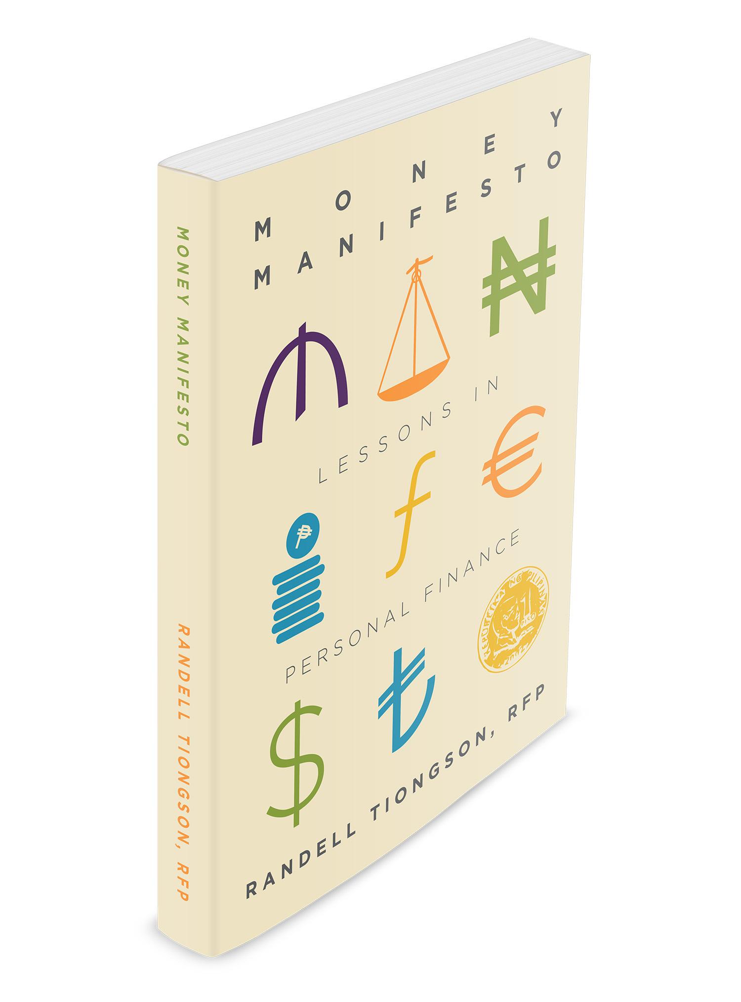 Money Manifesto book 3D