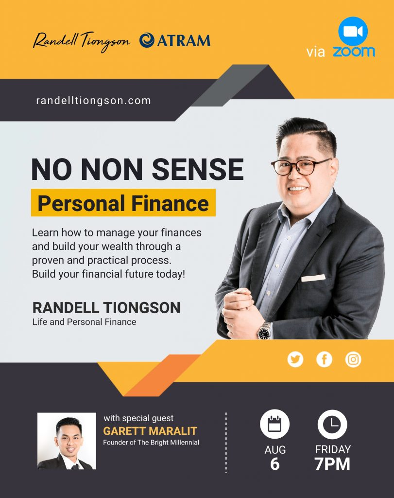 No Nonsense Personal Finance Event 2021 Banner